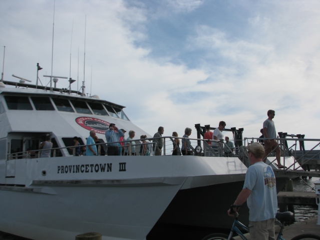 visiting passenger ferry on Ocracoke in May 2015. Photo by P. Vankevich