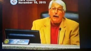 Allen Burrus, Dare County commissioner for southern Dare.