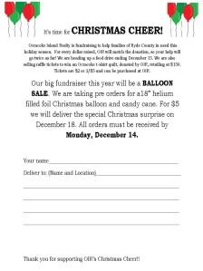 Balloon Fundraiser