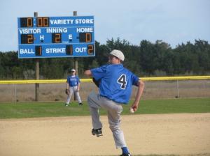 Community Park baseball field.