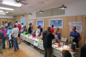 The Clam Chowder Cookoff, a benefit for Ocracoke Child Care.