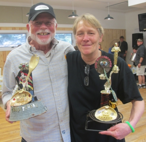 Philip Howard's traditional clam chowder for the Ocracoke Preservation Society and Sherry Atkinson's innovative clam chowder were the top winners in the Clam Chowder Cook-off in April. The 2016 event will be March 22 in the Ocracoke Community Center.