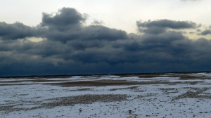 Ocracoke looking like the tundra. Photo by P. Vankevich