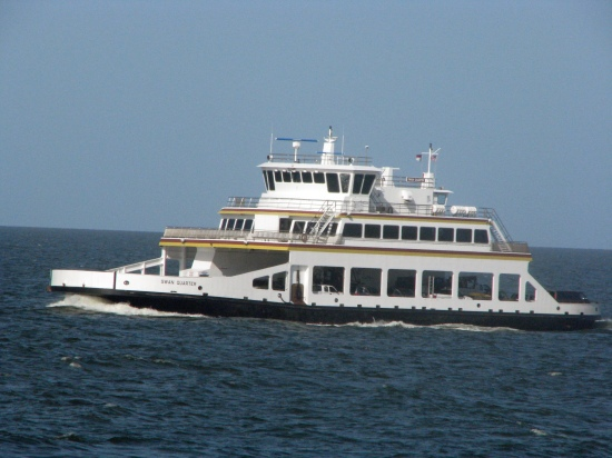 Swan Quarter ferry. Photo by P. Vankevich