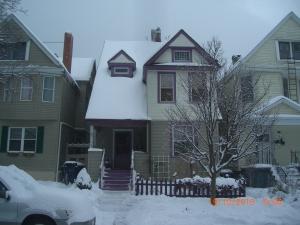 Pat Garber's sister Betsy's house in Buffalo, NY. Photo by Pat Garber