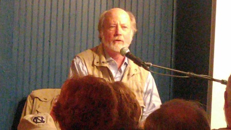 Bland Simpson performing at Deepwater theater.