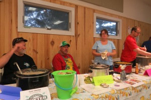 The 2015 Clam Chowder Cook-Off in the Community Center drew a full house