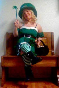 Angel the O'Bar Leprechaun will be the parade grand marshal March 17 and in charge of tomfoolery.