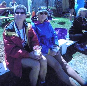 Nancy Mann and Joan Forman have traveled to every state since 1996 running in half marathons.