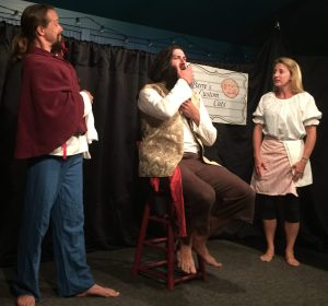 """""""Blackbeard: An Historical (Hyseterical) Account"""" is a comedy performed Monday nights at 7:30 in Deepwater Theater."""