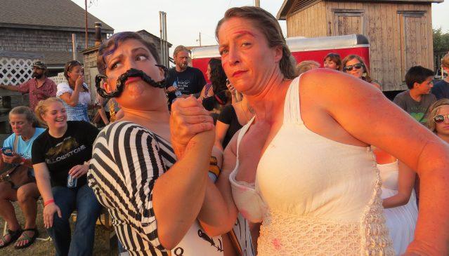 'Salvador Dalia' (Katy Mitchell) and 'Shark Attack' (Kelley Shinn) at last year's event. Photo: C. Leinbach