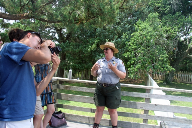 Mandy Harmon, Interpretive Park Ranger