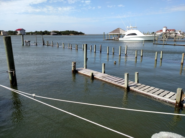 The water in Silver Lake Harbor on Wednesday. Photo by Gary Davis