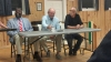Hyde County Commissioner candidates, left to right Thomas Midgette, Earl Pugh Jr, Tom Pahl. Photo by P. Vankevich