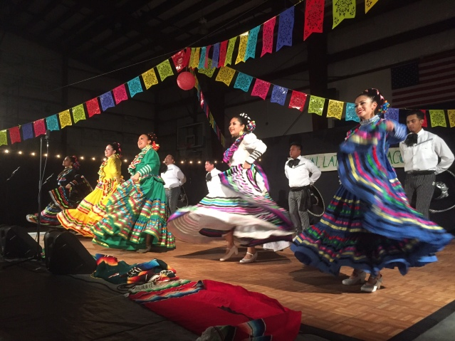 The Ballet Folklorico de Gualalupano was the headline act at the first Festival Latino de Ocracoke Nov. 12. Photo: C. Leinbach
