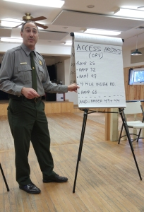 Cape Hatteras National Seashore Superintendent David Hallac