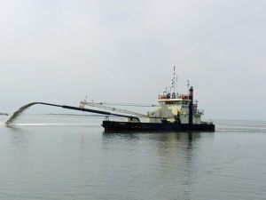Dredging. Photo by P. Vankevich