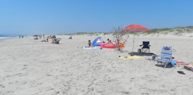 Ocracoke Lifeguard Beach