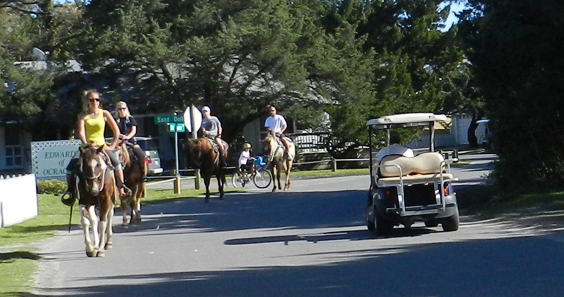 Safety Needed On The Narrow Island Streets Ocracoke Observer