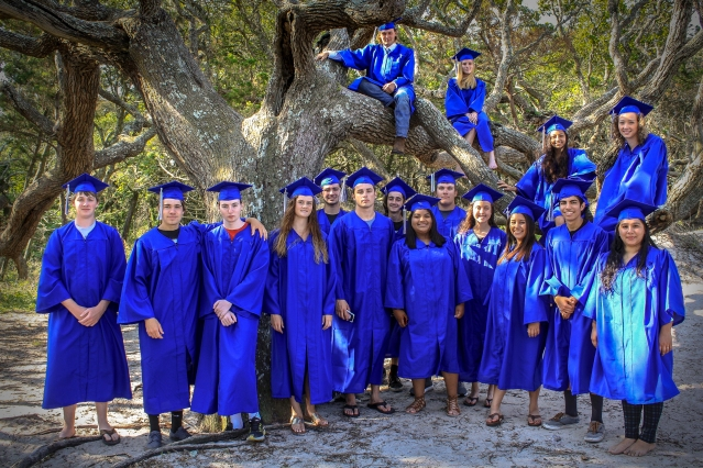 Ocracoke School, Ocracoke, NC, Class of 2017