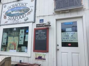 Power outage Ocracoke NC 2017